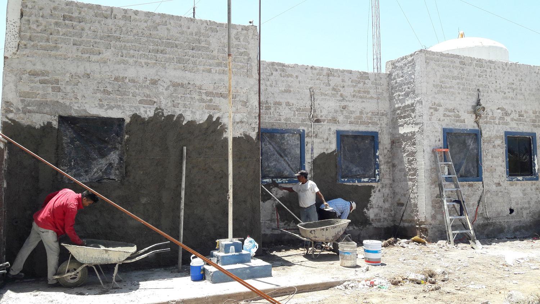 Por causa de salitre y humedad se tiene que rehabilitar oficinas de Japame