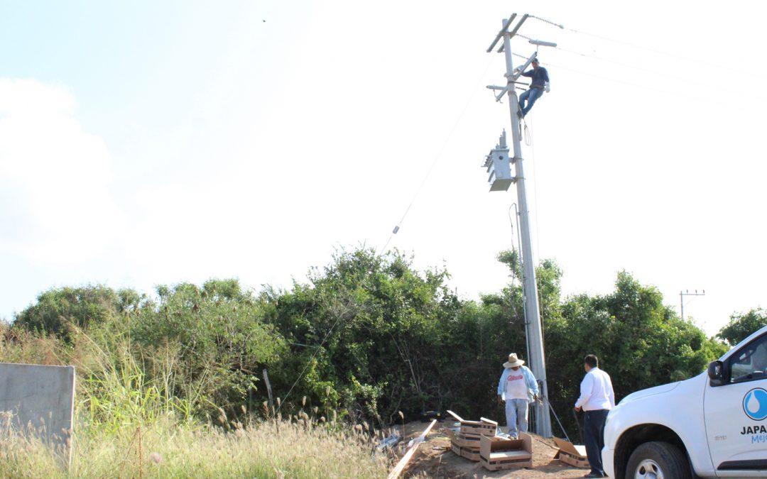 Japame rehabilita y protege subestación de energía eléctrica en cárcamo de bombeo de Celestino Gazca