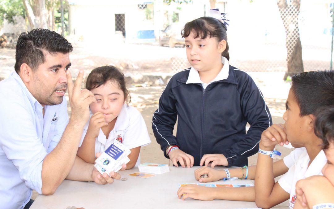 Efectúa Japame actividades sobre el cuidado del agua en escuela primaria Adolfo López Mateos