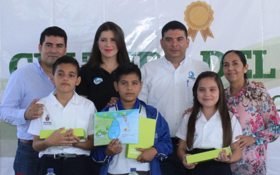 Japame y Ceapas llevan a cabo la premiación del concurso de dibujo, poesía y oratoria