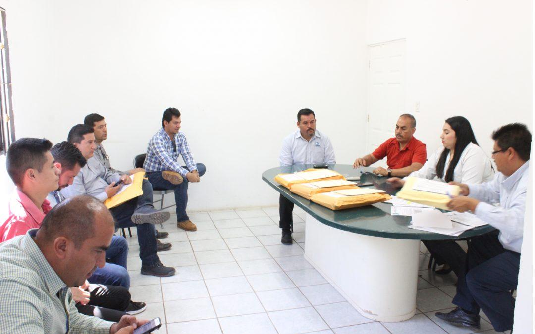 Efectúa Japame la apertura de las propuestas técnicas y económicas en licitación de la obra de alcantarillado y saneamiento para Alta Rosa, Elota