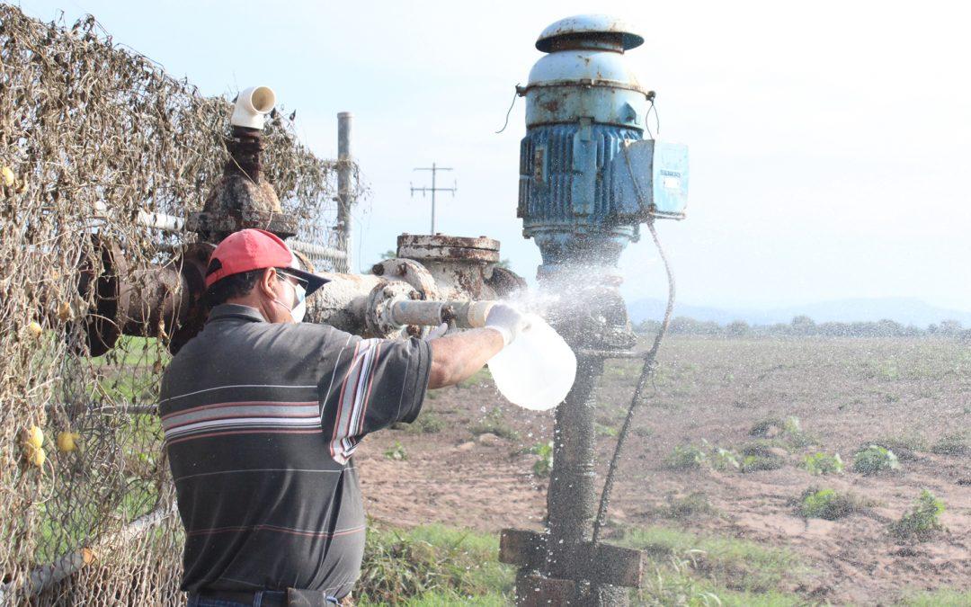 Busca Japame mejorar la calidad del agua potable en Potrerillos del Norote