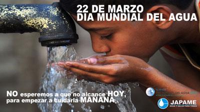"""22 DE MARZO DIA MUNDIAL DEL AGUA """"AGUA Y DESARROLLO SUSTENTABLE"""""""