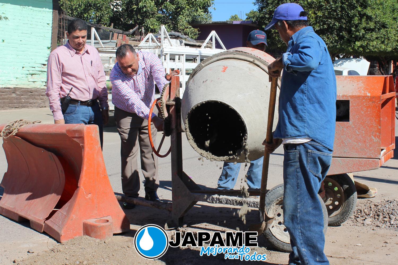 INICIA JAPAME JORNADA DE BACHEO POR CALLES DE LA CABECERA MUNICIPAL