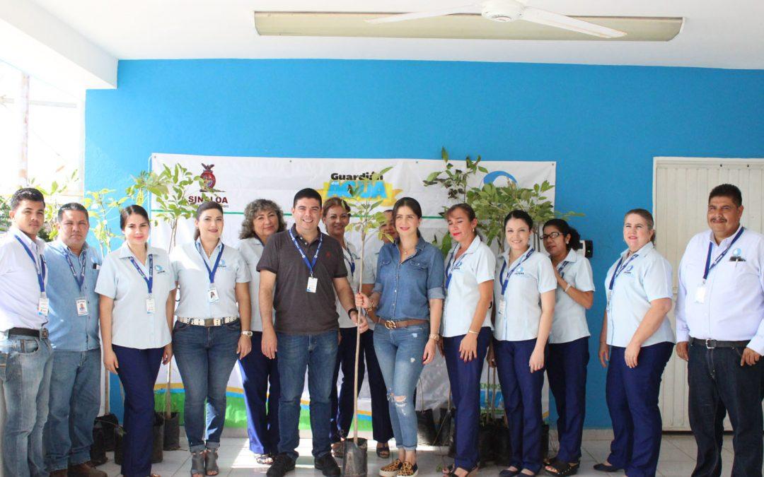 Entrega  Ceapas árboles a Japame para dar continuidad a campaña de arborización