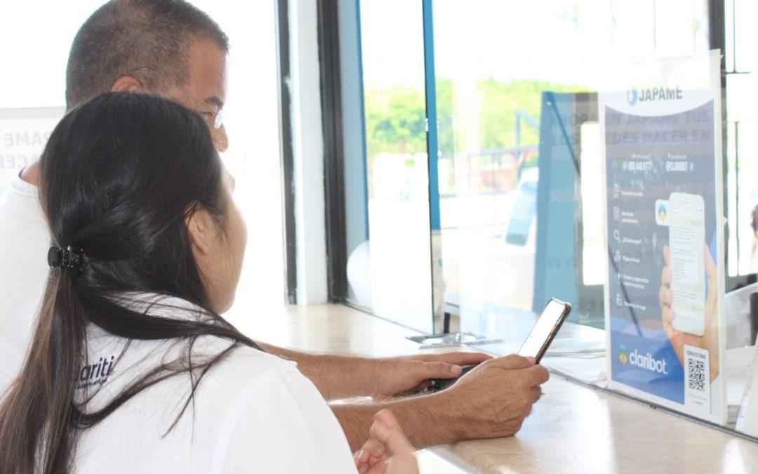 Inicia operaciones nueva herramienta de mensajería digital claribot, para consulta de saldos reporte de fugas, pago en línea entre otros más
