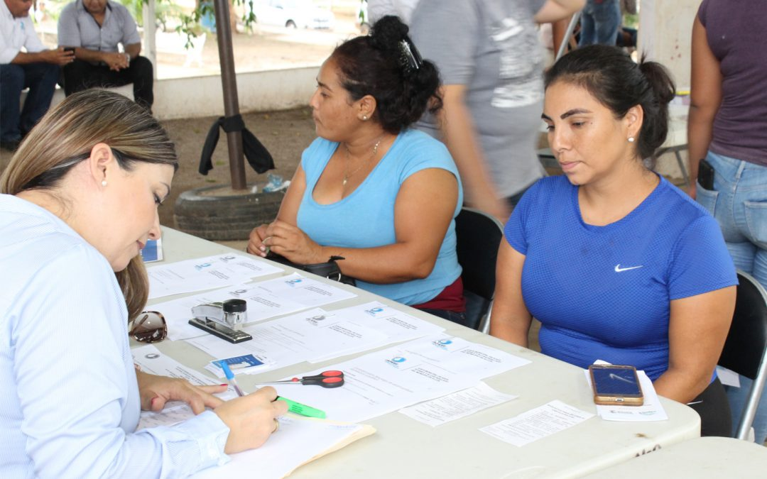 Instala Japame módulo de atención para usuarios en jornada de servicios municipales en la sindicatura Renato Vega Amador