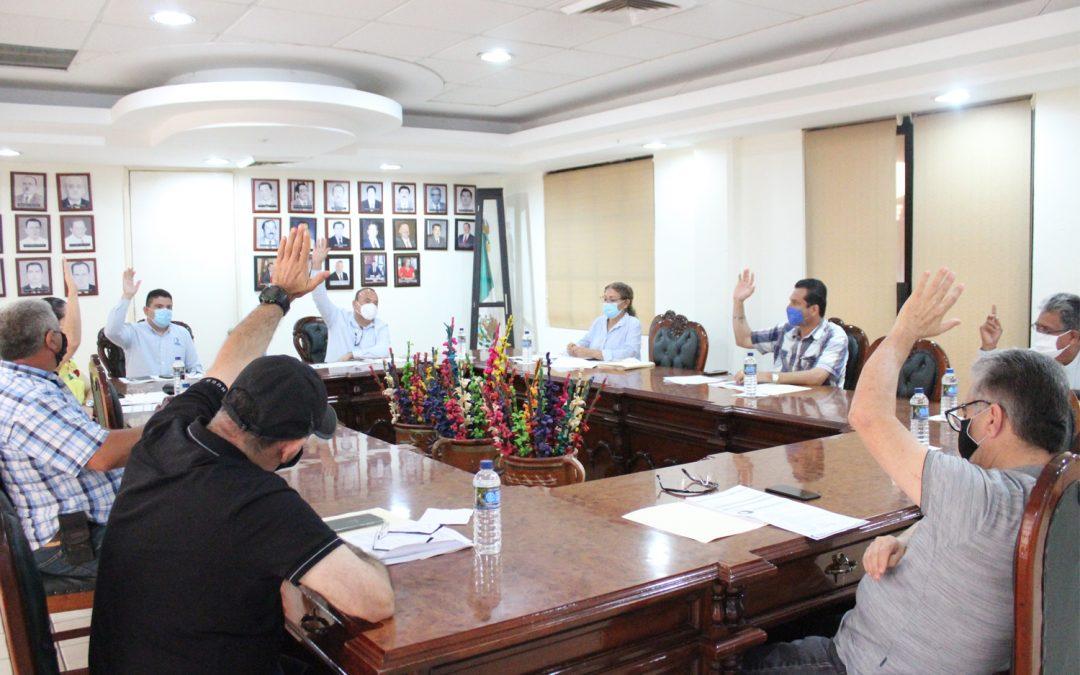 Se realiza sesión ordinaria de consejo de JAPAME
