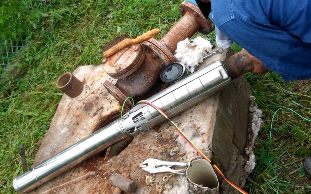 Sustituye JAPAME equipo de bombeo de agua potable dañado en Emiliano Zapata