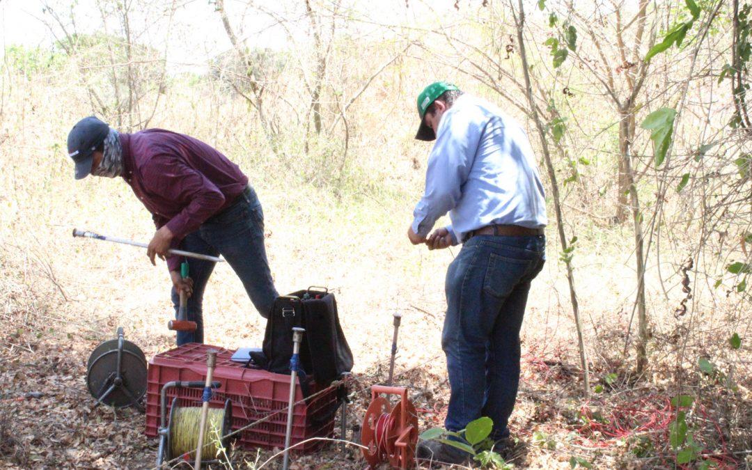 Inicia JAPAME con los estudios  geo hídricos para localizar nuevas fuentes de abastecimiento en la cruz y en comunidades rurales