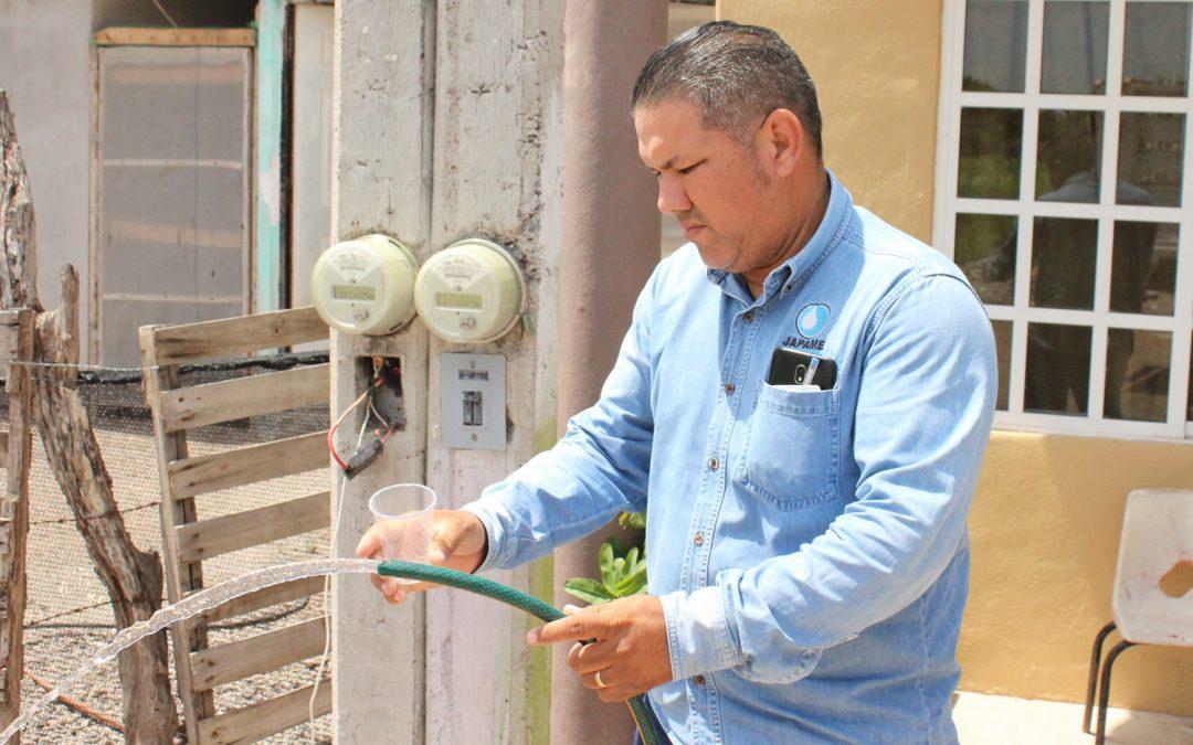 Persiste problema en el abasto de agua potable en algunas comunidades y colonias del municipio, Japame continúa complementando el servicio con tandeos y por medio de pipas